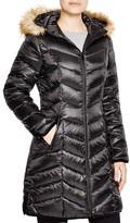 Dawn Levy 2 Abby Faux Fur Trim Puffer Coat