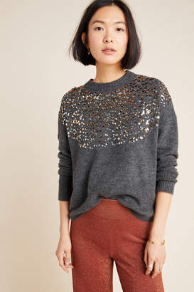 Lea & Viola Vanessa Sequined Sweater