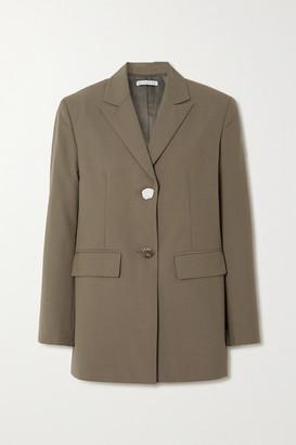 REJINA PYO Bowen Wool-blend Blazer - Gray