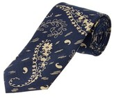 Brooks Brothers Blue Paisley Cotton Tie.