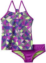 Nike Girls 7-14 Racerback Tankini Swimsuit Set