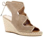 Franco Sarto Perforated Wedge Sandal