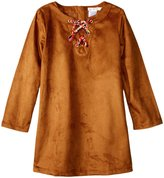 Billieblush Faux Suede Dress (Toddler/Kid) - Brown - 8 Years