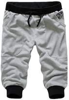 Smartstar Men Sports Gym Jogger Loose Casual Shorts Harem Pants Trousers Size M