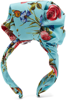Dolce & Gabbana Floral-print silk-blend headband