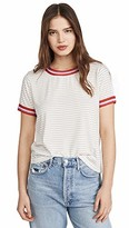 Cupcakes And Cashmere Women's Quily Striped Knit Tee