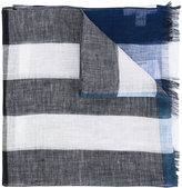 Burberry striped scarf