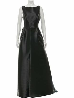 John Paul Ataker Bateau Neckline Long Dress w/ Tags Grey