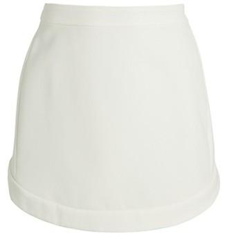 BCBGMAXAZRIA Tulip-Hem Mini Skirt