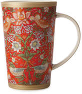 Maxwell & Williams William Morris Strawberry Red Conical Mug