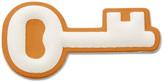Fossil Key Sticker