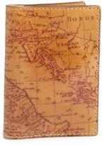 Patricia Nash Map Print Leather Passport Holder