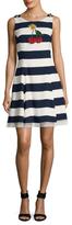 Dolce & Gabbana Sequins Striped Dress