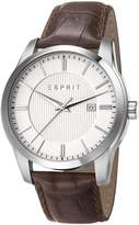 Esprit ES107591002 - Men's Watch, Leather, Tone