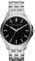 Armani Exchange Mens Stainless Steel Bracelet Watch
