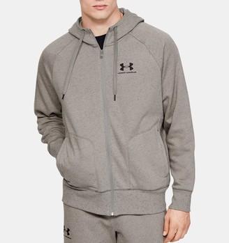 Under Armour Men's UA Speckled Fleece Full Zip Hoodie