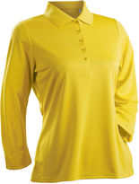 Asstd National Brand Luster 3/4 Sleeve Polo Plus
