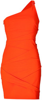 Versace One Shoulder Dress