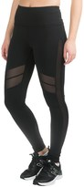 90 Degree by Reflex High-Waist Running Leggings - Mesh Sides (For Women)