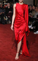Christian Siriano One Shoulder Gown