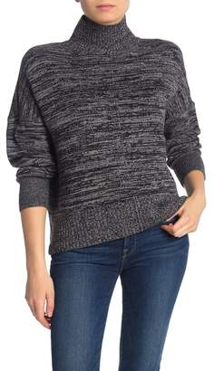 French Connection Baby Soft Space Dye Mock Neck Sweater