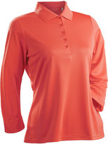 Asstd National Brand Luster 3/4 Sleeve Polo Plus