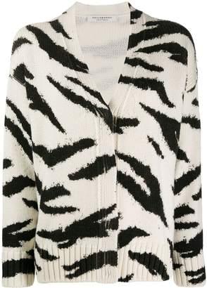 Philosophy di Lorenzo Serafini animal pattern wool cardigan