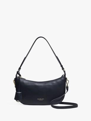 Radley Summerstown Leather Small Zip Top Shoulder Bag