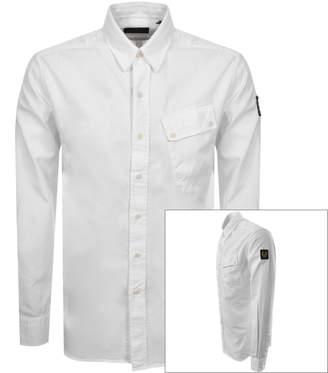 Belstaff Long Sleeved Pitch Shirt White