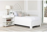 David Francis Furniture Cathedral Bed Color: White, Size: Extra-Long Twin, Base Construction: Standard