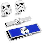 Star Wars STARWARS Storm Trooper Tie Bar, Cuff Links & Money Clip Gift Set