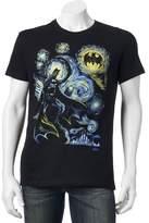 Batman Men's Starry Night Tee