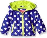 Pink Platinum Baby Heart Print Jacket