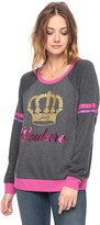 Juicy Couture Couture Crown Fleece Pullover