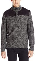 Calvin Klein Jeans Men's Electric Felted Mock Neck Sweater