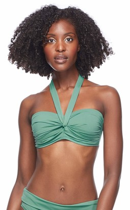 Esky Skye Women's Emma Bandeau Bikini Top Swimsuit with Twist Front Detail