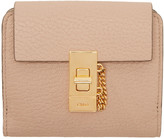Chloé Pink Drew Square Wallet