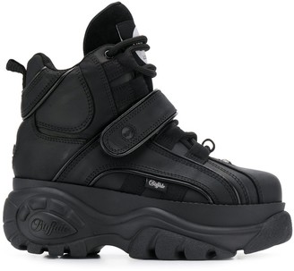 Buffalo David Bitton Corin platform hi-top sneakers