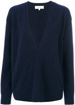 Carven v-neck sweater - women - Polyamide/Spandex/Elastane/Wool - S