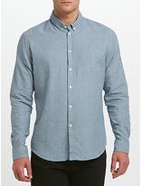 Samsoe & Samsoe Liam Bx Shirt, Poseidon White