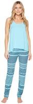 Josie Mesmerized Tank PJ Set Women's Pajama Sets