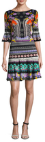 Temperley London Printed Flared Dress