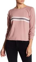 Socialite Front Stripe Pullover