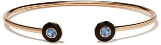 Selim Mouzannar 18kt rose gold sapphire Mina bracelet
