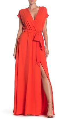 Yumi Kim Jasmine Faux Wrap Maxi Dress