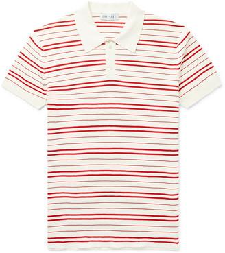 Odyssee - Riker Slim-Fit Striped Cotton Polo Shirt - Men