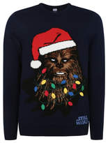 George Star Wars Chewbacca Light-up Christmas Jumper
