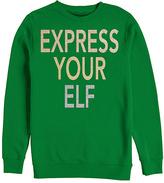 Fifth Sun Kelly 'Express Your Elf' Fleece Sweatshirt - Men's Regular