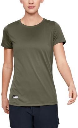 Under Armour Women's UA Tactical Tech Short Sleeve