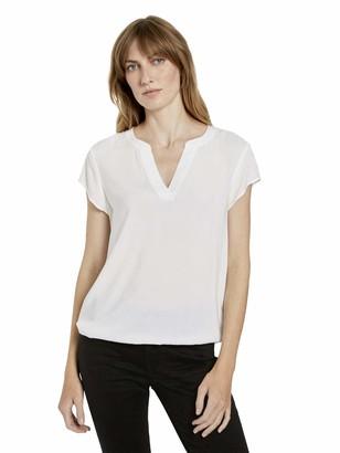 Tom Tailor Women's Feminine Shape T-Shirt